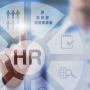 Graphic showing HR resources.