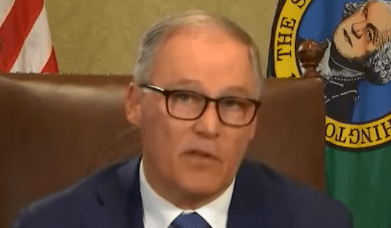 Governor Jay Inslee announces stay at home order for Washington State and closes many Washington businesses.