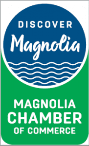 Magnolia Chamber of Commerce Safe Start Kits Partnership Logo