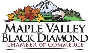 Maple Valley Black Diamond Chamber of Commerce Safe Start Kits Partnership Logo